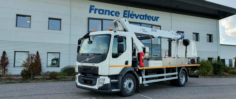 hoogwerker vrachtwagen kopen