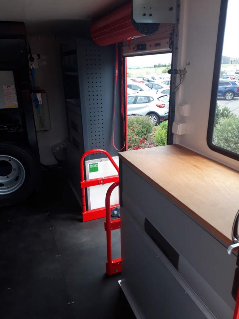 Châssis cabine cellule